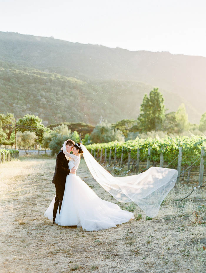bernardus lodge wedding