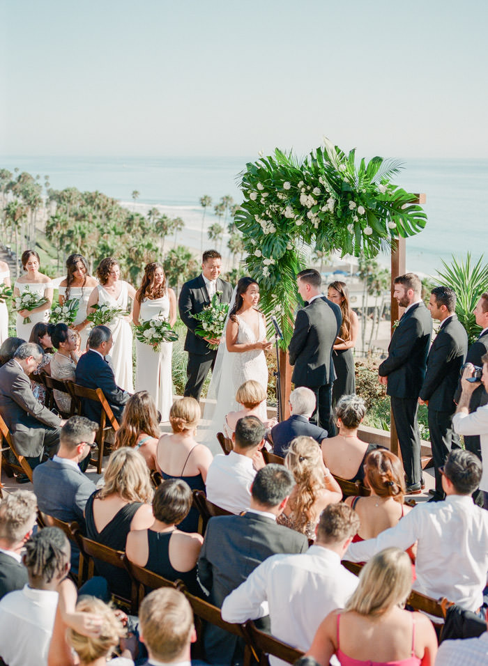 seaside wedding ceremony