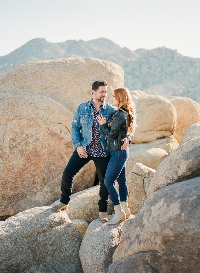 Joshua Tree park engagement