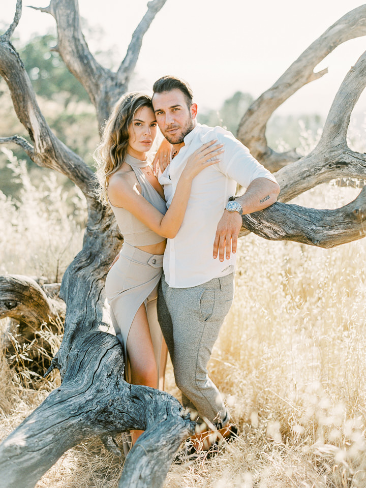 destination santa ynez engagement shoot
