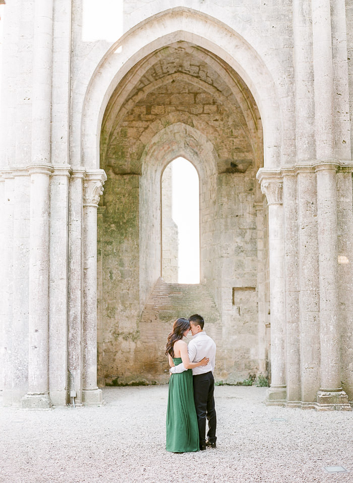 tuscany engagement